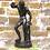 Thumbnail: Dancing Faun, c1860 Bronze Sculpture..