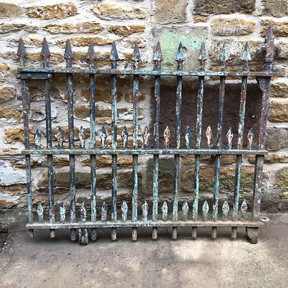 Victorian Cast and Wrought Iron Gate