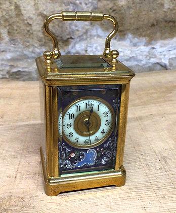 Miniature Carriage Clock c1900