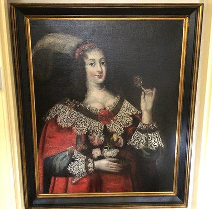 Spanish Aristocratic Lady c1690
