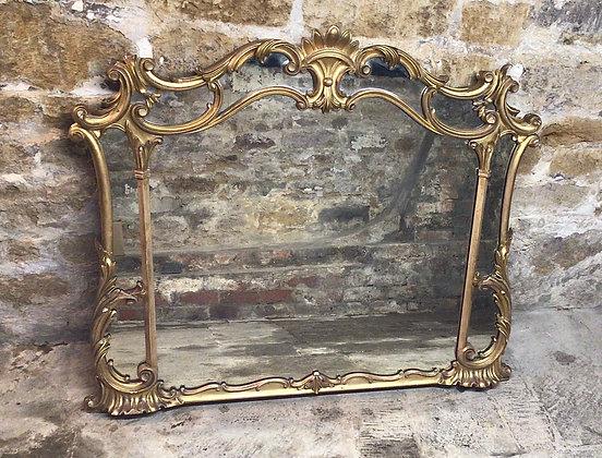 Fine Gilt Overmantle Mirror c1830