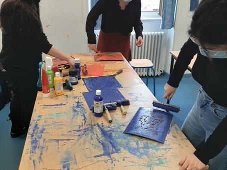 Intervention d'une artiste en Arts Plastiques