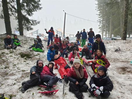 CM1 : Classe de neige