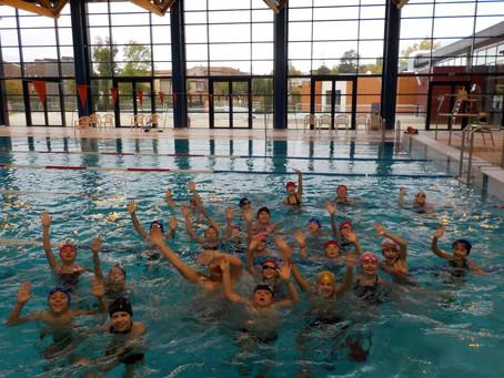 CP-CM1 : Clôture du cycle de natation