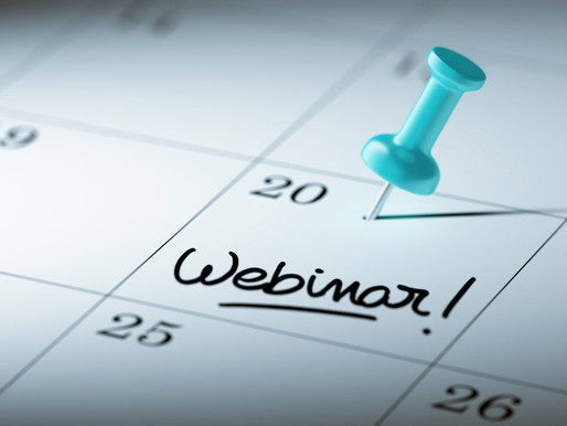 Webinar Wednesdays: 5 Reasons to Join
