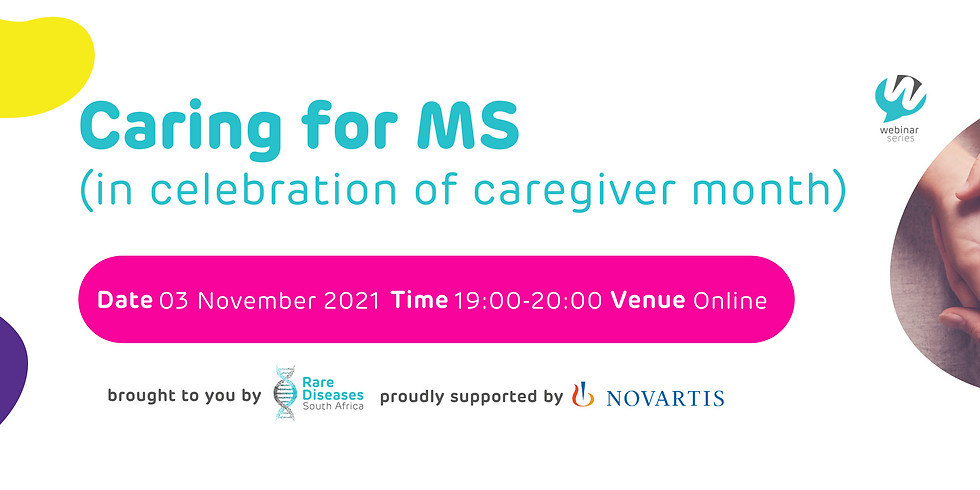 Caring for MS (in celebration of caregiver month)