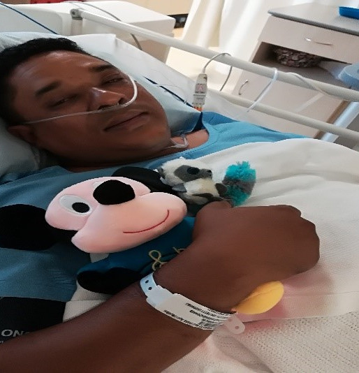 Franklin Nomdoe's Diagnosis with #NeuroendocrineTumour with spread to liver with Carcinoid syn