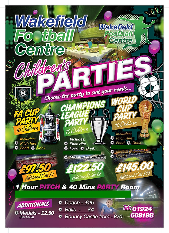 Childrens Football Parties WFC