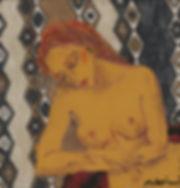 2019年 スクラッチ、コラージュ、手彩色 18.5 × 17.5 cm