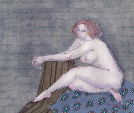 2015年 版画、手彩色、コラージュ 10 × 12 cm