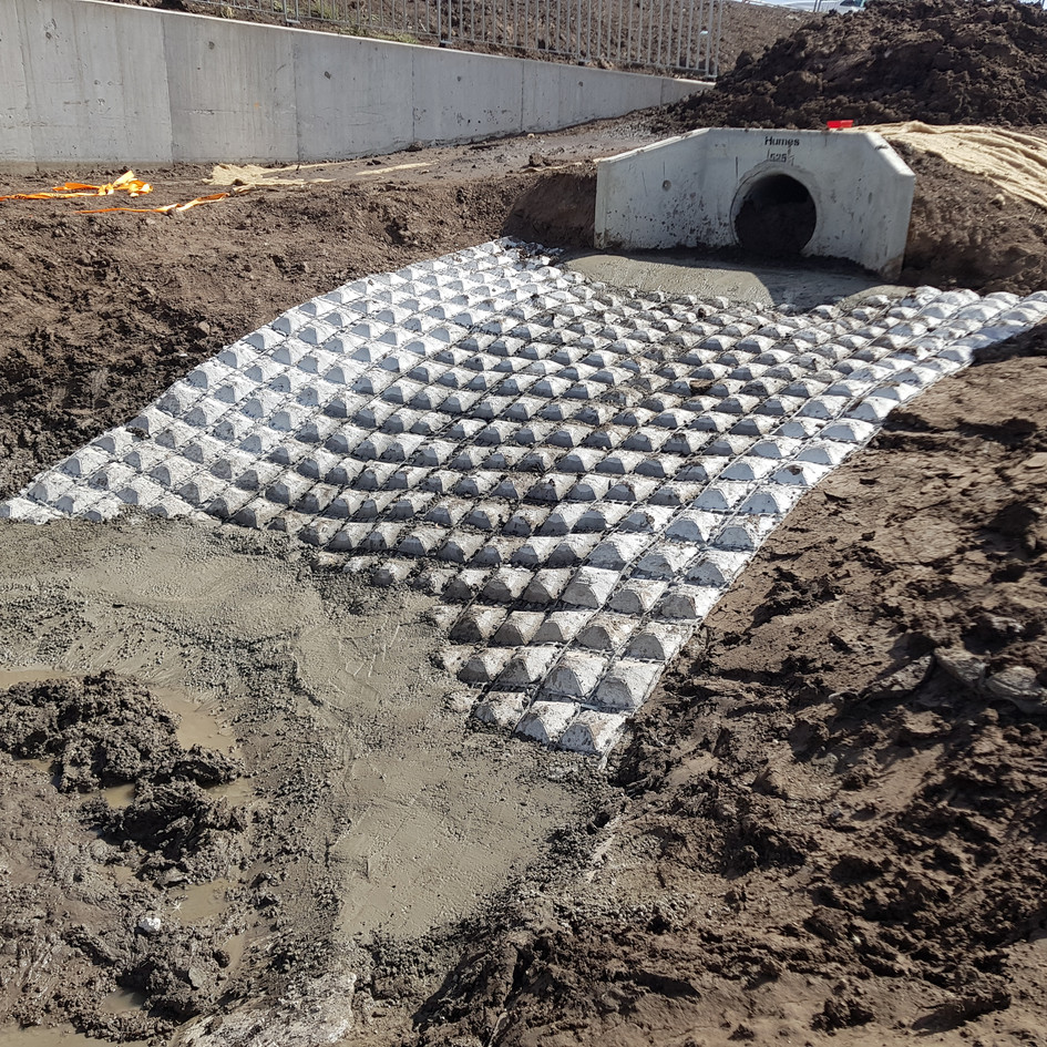 Stormwater Detention Basin