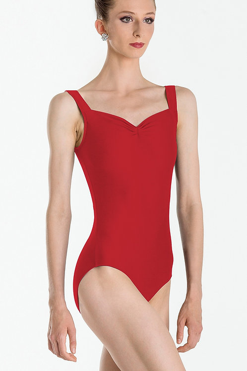 Faustine, Sweetheart Neckline - A, Red