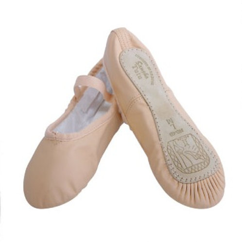 Leather, Full Sole Ballet Shoes