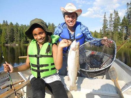 Forfait pêche familial 5 jours du Dimanche au Vendredi