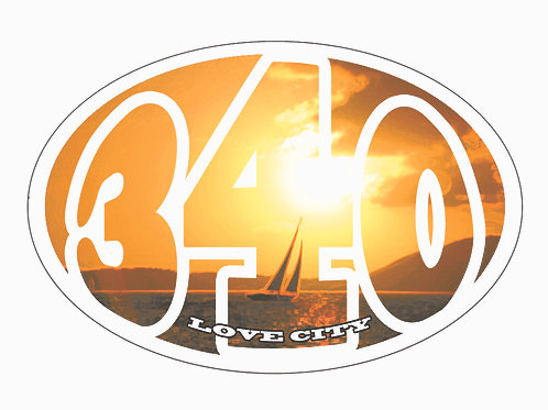 340 Lifestyle Stickers Sunset Sail