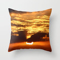VI Fire Sky Throw Pillows