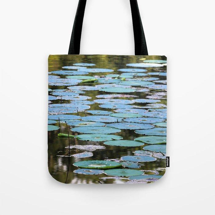 Natchez Lilypads Tote Bag