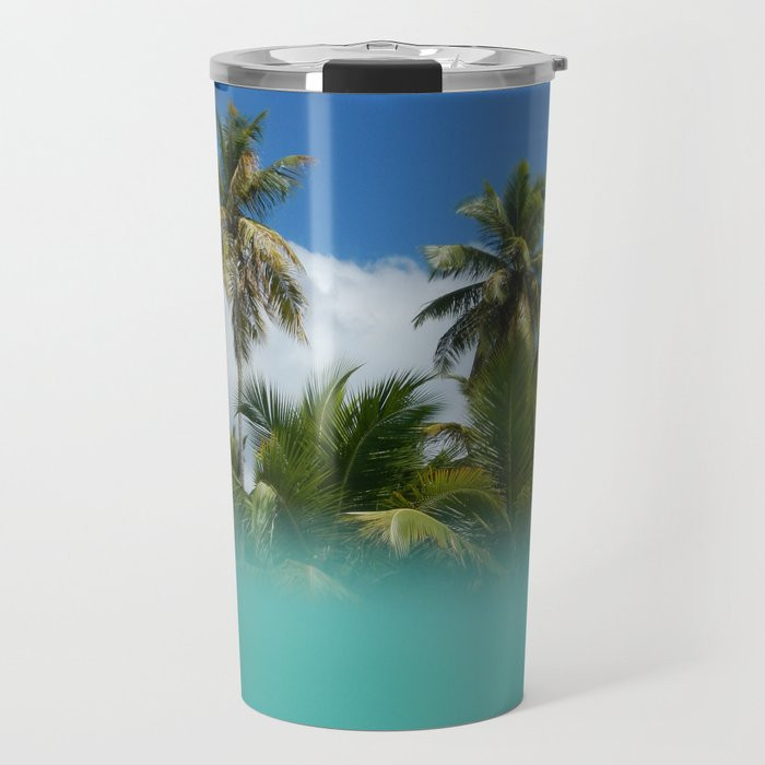 Island Paradise Travel Mugs
