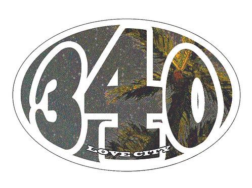 340 Lifestyle Stickers Starry Palms