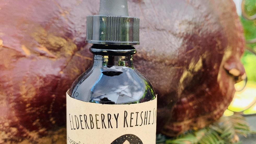 Elderberry Reishi Syrup
