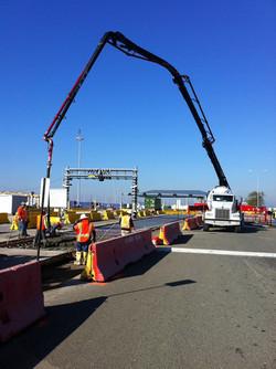 BNSF- Concrete Pour