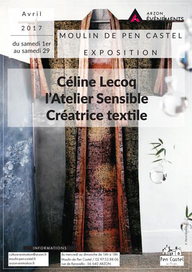 Exposition au Moulin de Pen Castel