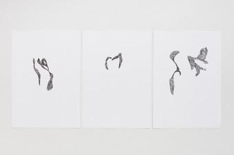 3 formats 14,8 x 21 cm - pen