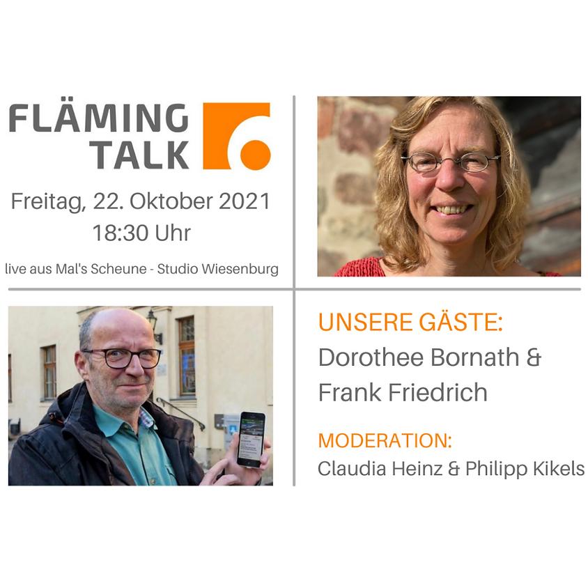 Fläming Talk mit Dorothee Bornath und Frank Friedrich
