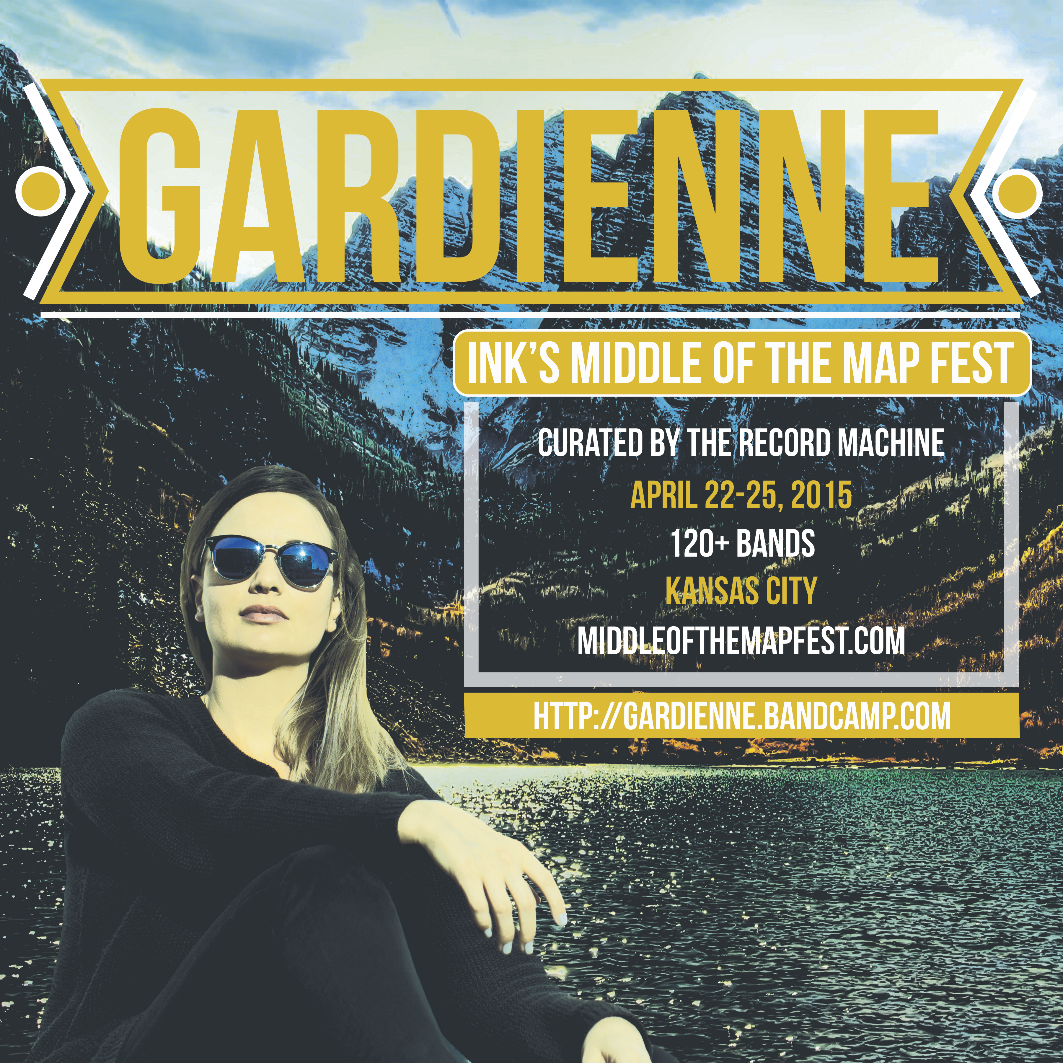 Gardienne Concert Poster