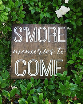 """S'more memories to come""_#hazeldesignsm"