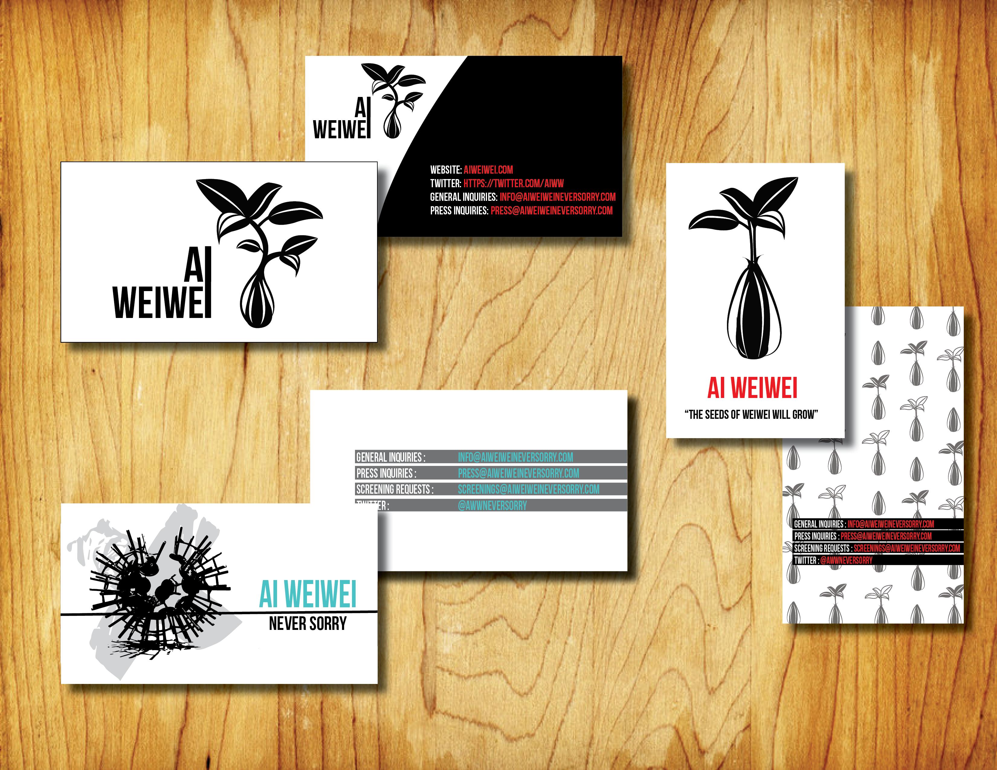 Ai WeiWei rebranding