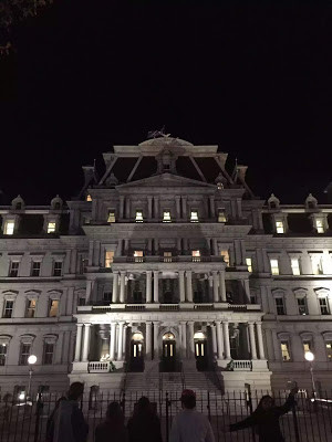 Facade of the Eisenhower Executive Office Building
