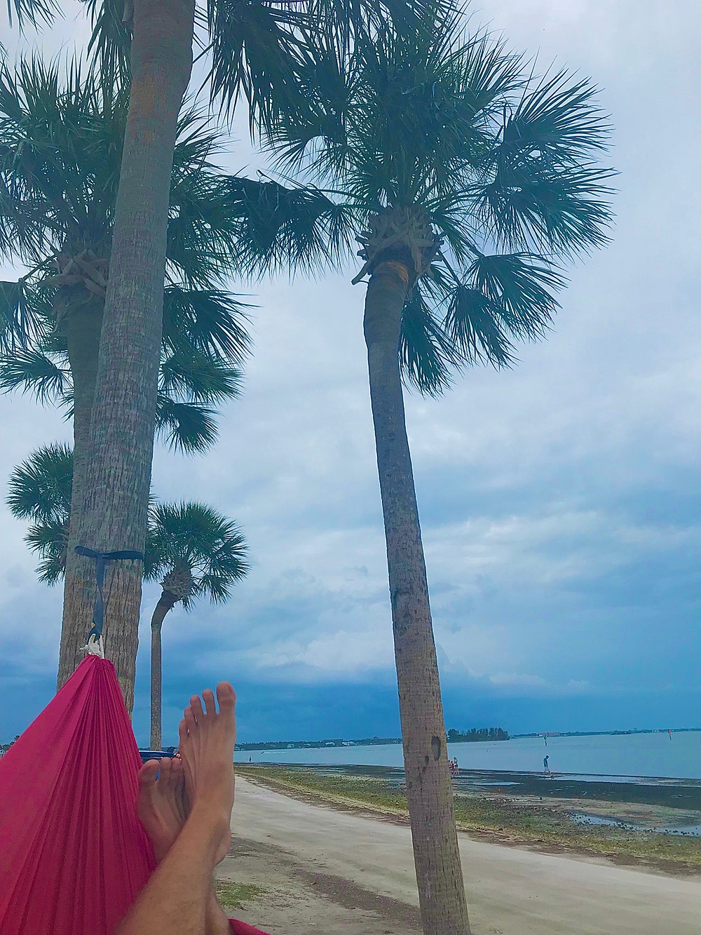 Hammocking at Honeymoon Island State Park
