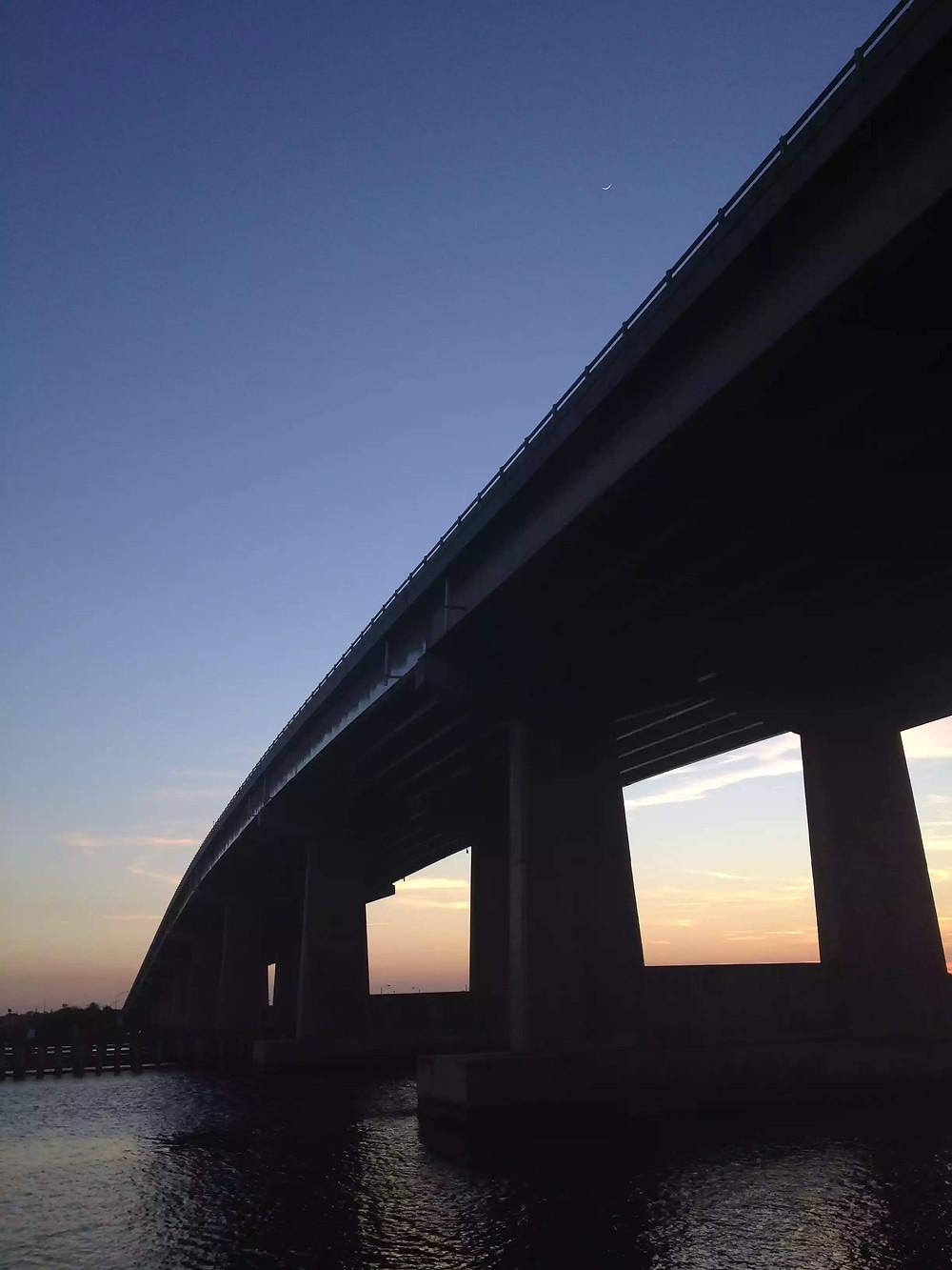 Bridge crossing the Halifax River