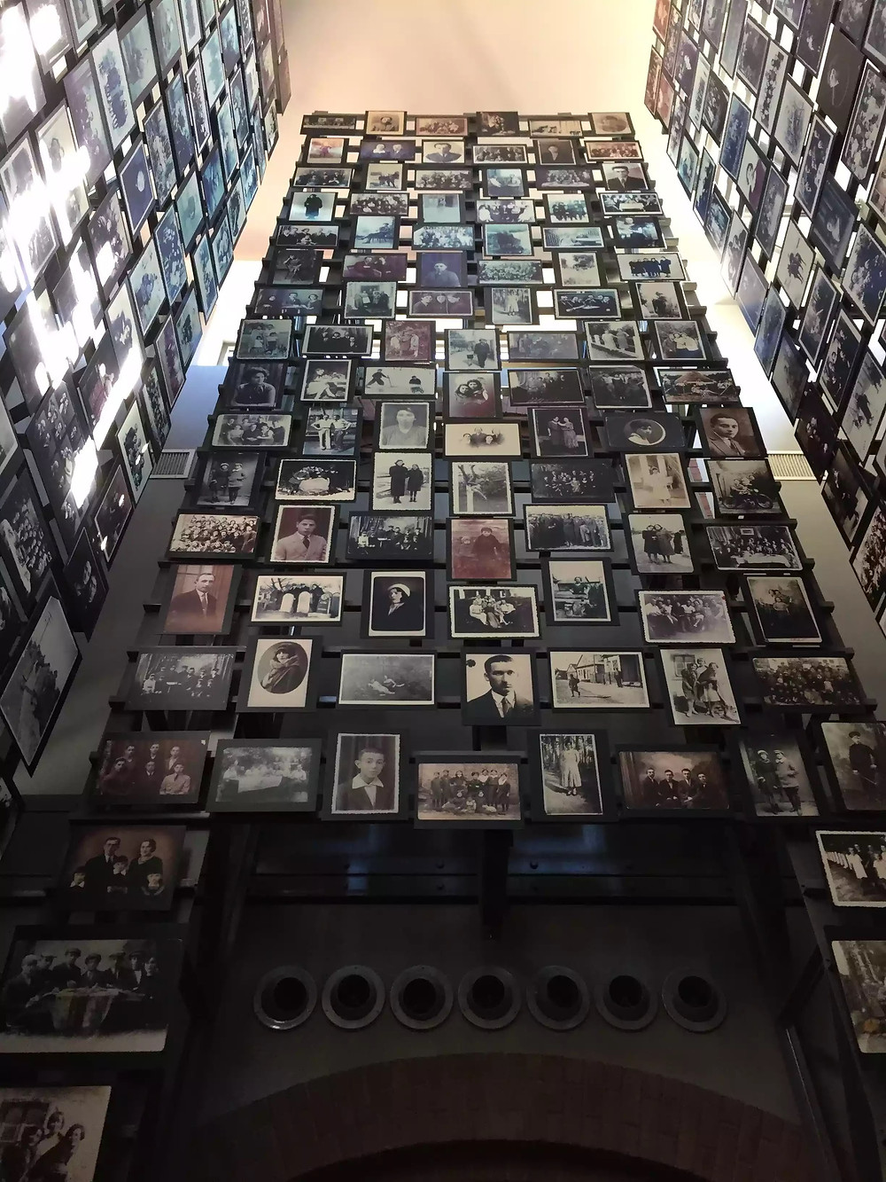 Tower of Faces in the United States Holocaust Memorial Museum