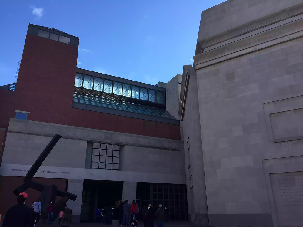 Exterior of the United States Holocaust Memorial Museum