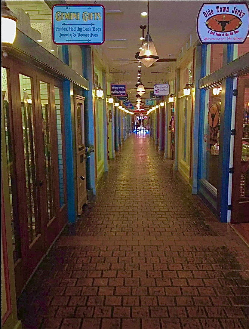 Modern Shopping Arcade in Historic St. Augustina