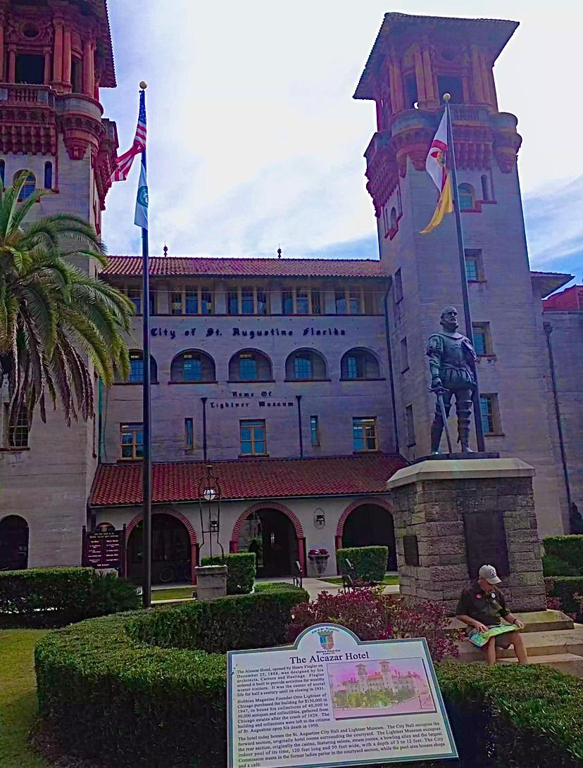 Lightner Museum, former Alcazar Hotel