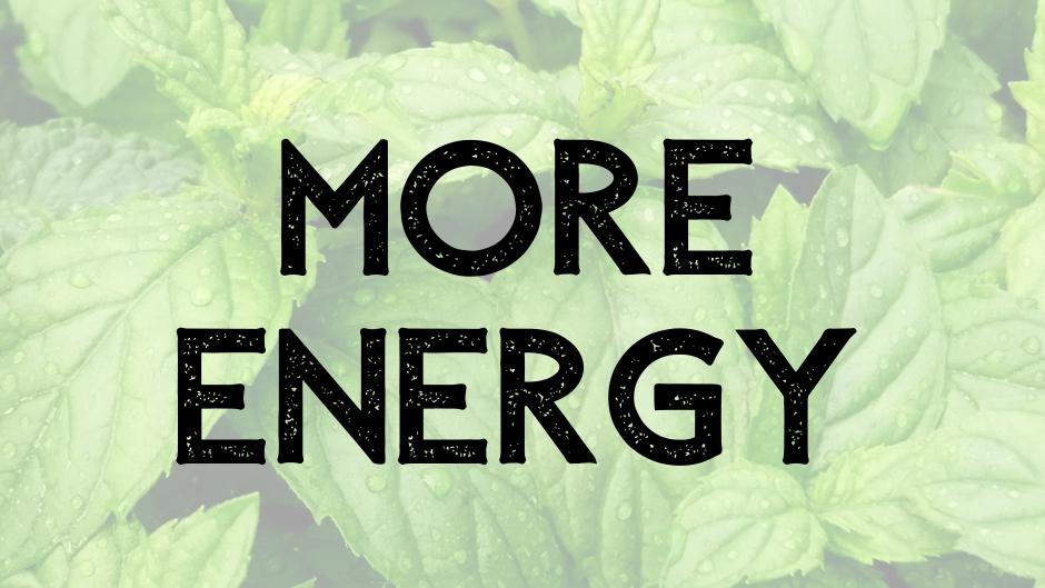 more energy