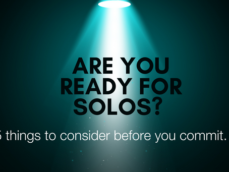 How To Know If You're Ready For Solos