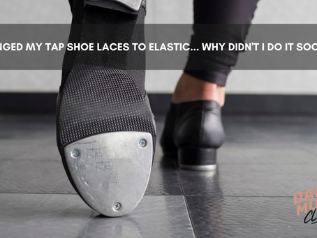 Tap Shoe Laces Taking Too Much Time?
