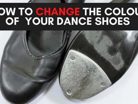 How To Change Dance Shoe Colour