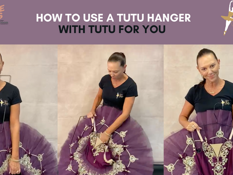 How to Use a Tutu Hanger