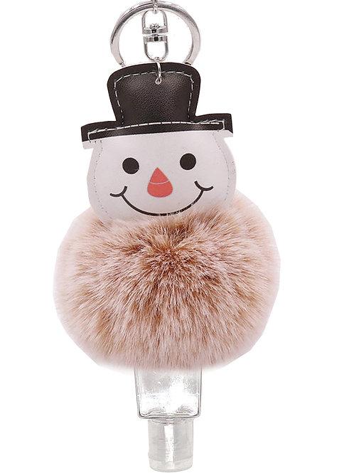 Holiday Snowman Pompom