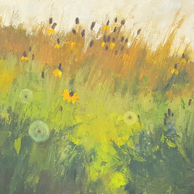 """""""Late Summer Meadow with Salsify"""""""