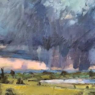 Storm on Pine Ridge Reservation, South Dakota