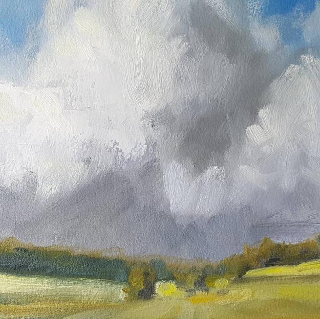 """""""Clouds #1, Northern Estes Park"""""""