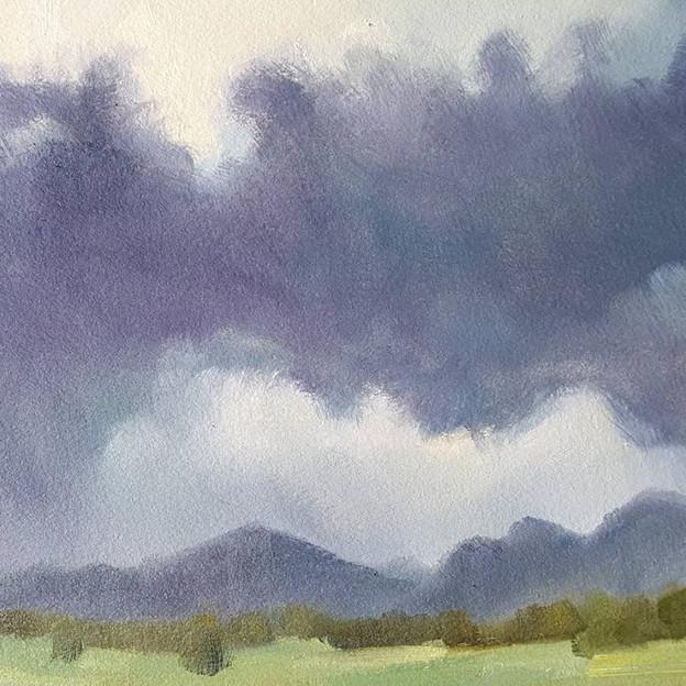 """""""Clouds #3, Northern Estes Park"""""""