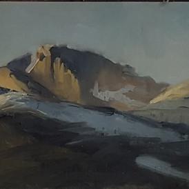 Longs Peak, Dawn
