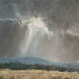 """""""Snow Squall, Storm Mountain"""""""